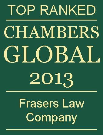 Chambers Global 2013 logo